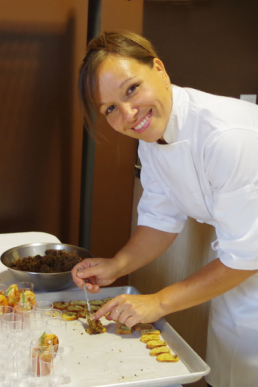 La chef, Caroline Cadotte